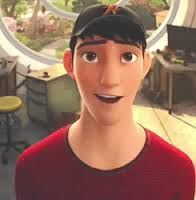 Tadashi Hamada: older brother to the main character, and my favorite Disney character EVER!